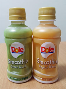 Dole Smoothie Green blend / Tropical blend